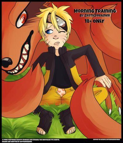 ExoticDreamer Morning Training Naruto Ongoing