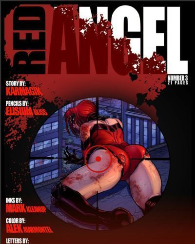 Jab Comix- Red Angel 3