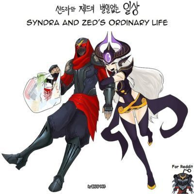 [LoL] Syndra and Zed\