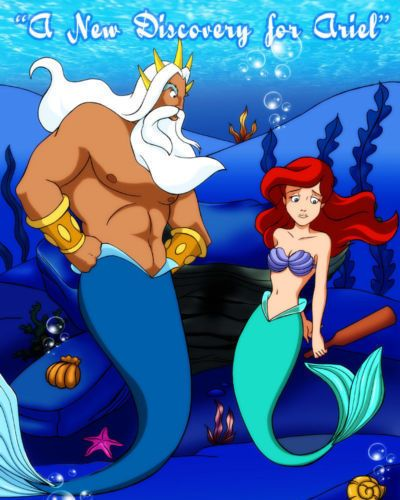 [Palcomix] A New Discovery for Ariel (The Little Mermaid)
