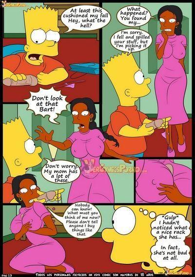 комиксы мардж симпсон