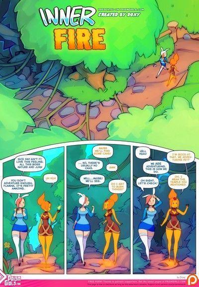 साहसिक समय - भीतरी आग