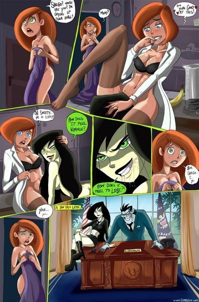 kimmie और shego