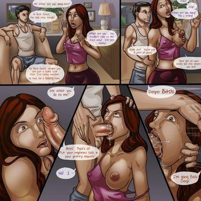 चाची अनुग्रह के साथ बलात्कार