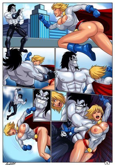 เหมือน superheroines