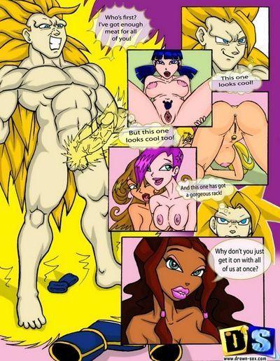 Комиксы секс винкс 76701 фотография