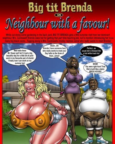 [Smudge] Big Tit Brenda - Neighbour With A Favour!