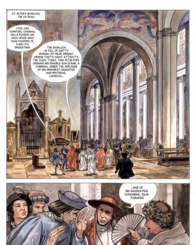 [Alejandro Jodorowsky & Milo Manara] Borgia #3 - The Flames of the Pyre [English] - part 2
