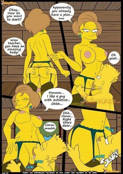 В Симпсоны 5 - новый уроки - часть 2