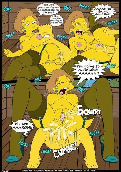 Порно комиксы симсоны 32436 фотография
