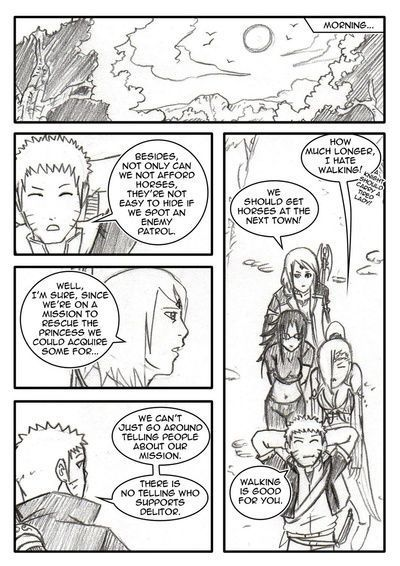 Naruto-Quest 8 - Scratches At The Surfacch