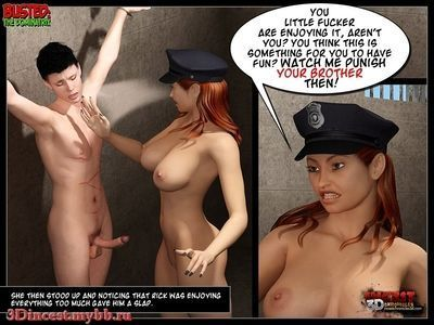 Busted- The Dominatrix - part 3