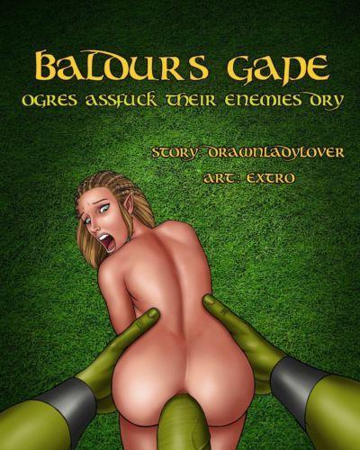 Baldur's Gape- Ogres assfuck their enemies dry best