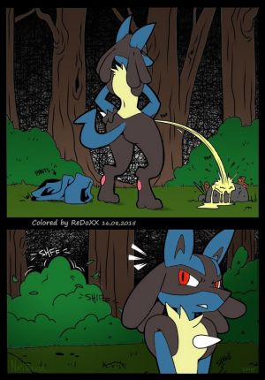 A Wild Lucario Appears