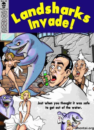 landsharks invadere