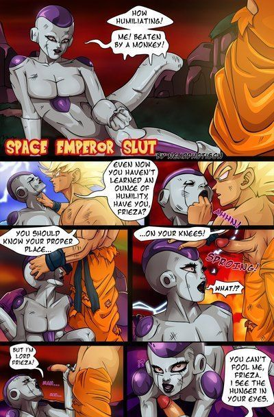 DBZ - Space Emperor Slut- Nearphotison