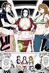 (C81) [Choujikuu Yousai Kachuusha (Denki Shougun)] MEROMERO GIRLS NEW WORLD (One Piece)  [darknight] [Decensored] [Colorized]