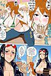 (C81) Choujikuu Yousai Kachuusha (Denki Shougun) MEROMERO GIRLS NEW WORLD (One Piece) Decensored Colorized