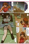 (C70) Ohkura Bekkan (Ohkura Kazuya) Tifa W cup (Final Fantasy VII) SaHa