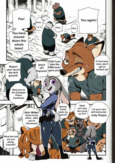 Bear Hand What Does The Fox Say? Zootopia Colored pawtsun
