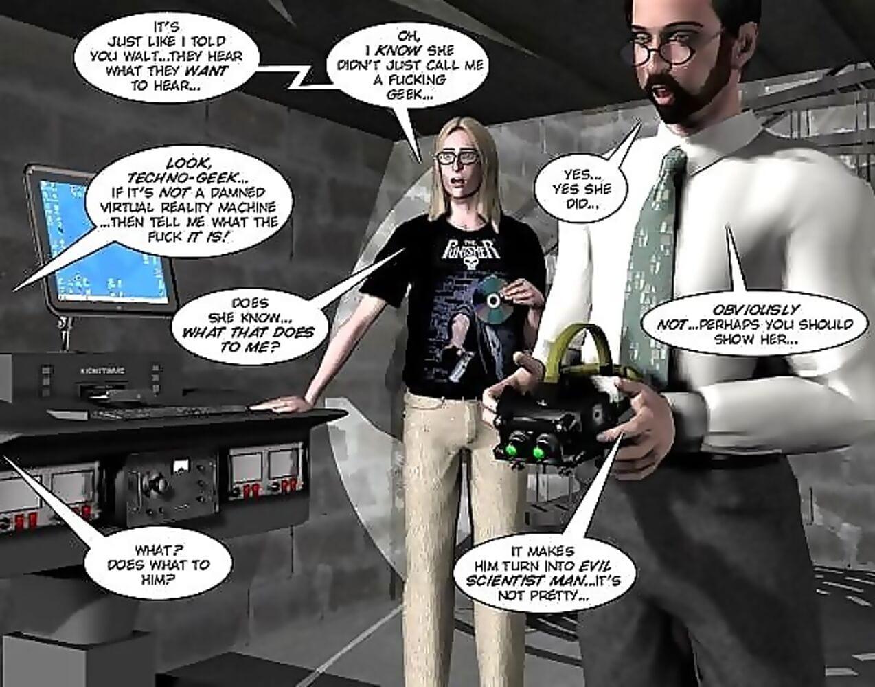 Orgasm in the virtual reality 3d xxx cartoon porn comics anime - part 588