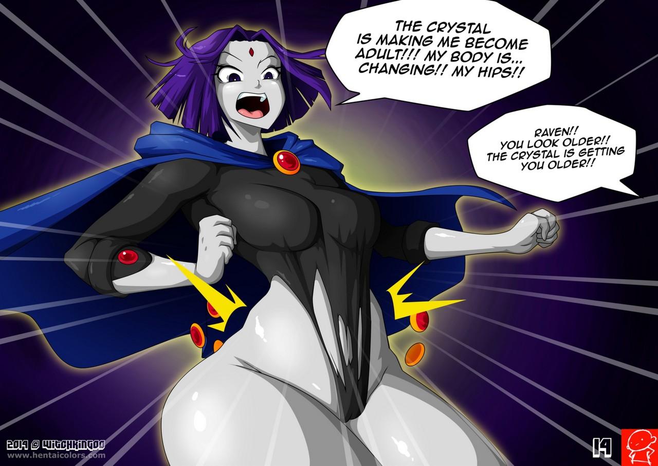 Teen Titans 1 - The Magic Crystal