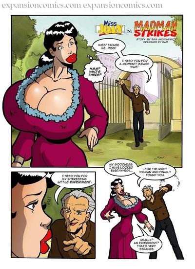 Miss Joan - Madman Strikes