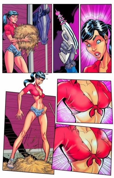 The Origin Of Super Bimbo