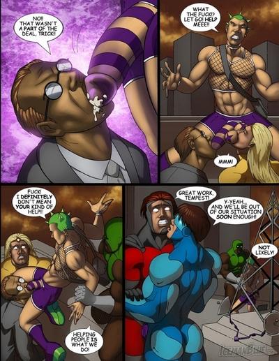 спасатели порно комикс