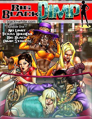 сайту blacknwhite Большой черный Сутенер