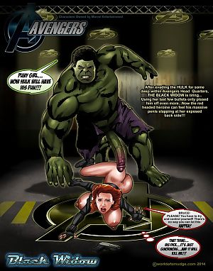 Smudge- Black Widow Vs The Hulk