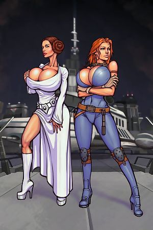 Boobsgames- Leia and Mara