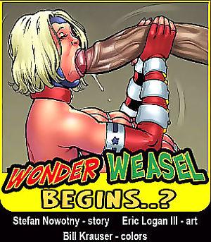 Superheroine Comixx- Wonder Weasel Begins..?