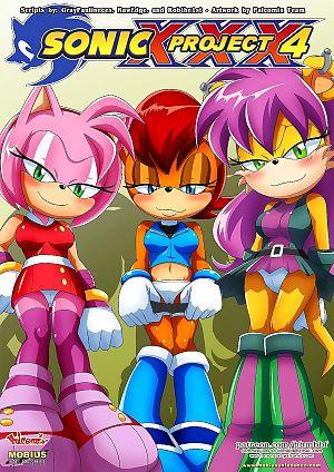 Palcomix- Sonic Project XXX 4