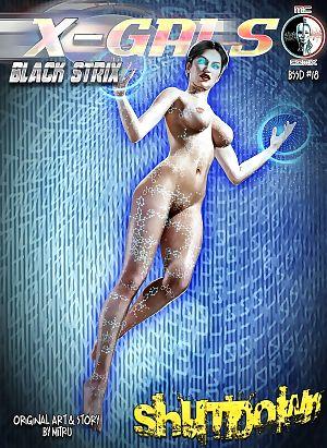 MC Comix- X-Gals- Black Strix – Shutdown 18