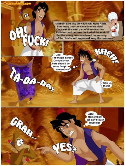Aladdin - The Fucker From Agrabah - part 3