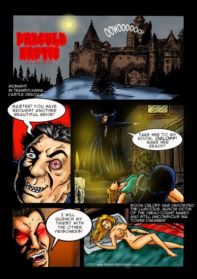 MonsterBabe- Dracula Erotic