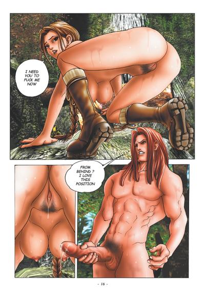 приключения лары крофт порно