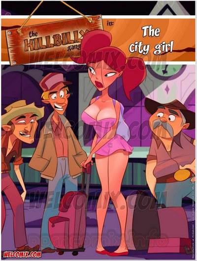 Hillbilly Gang 11- The City Girl- Welcomix