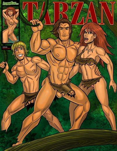 Iceman BLEU Tarzan