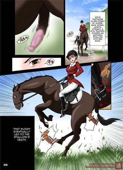 Horse cock shemale hentai