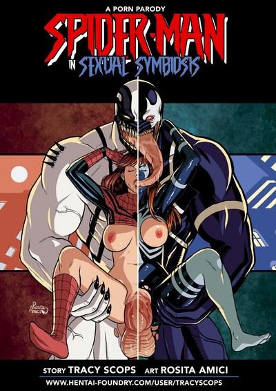 Человек-паук сексуальные симбиоз 1