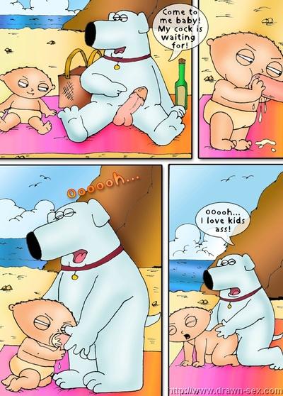 ครอบครัว คน - ชายหาด playdrawn เซ็กส์