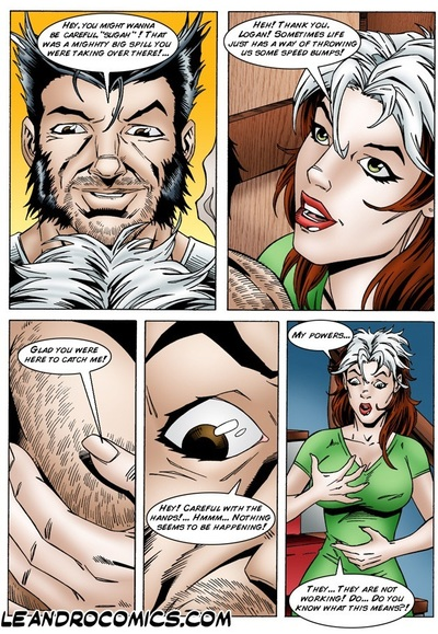 Rogue loses her powers (X-men)