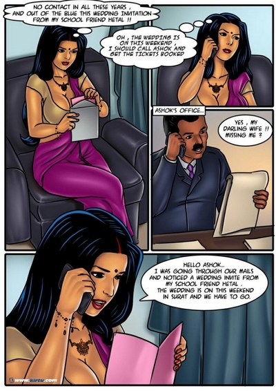 Savita Bhabhi 54 - The Wedding Gift
