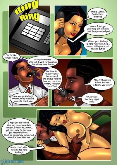 Savita Bhabhi 29 - The Intern