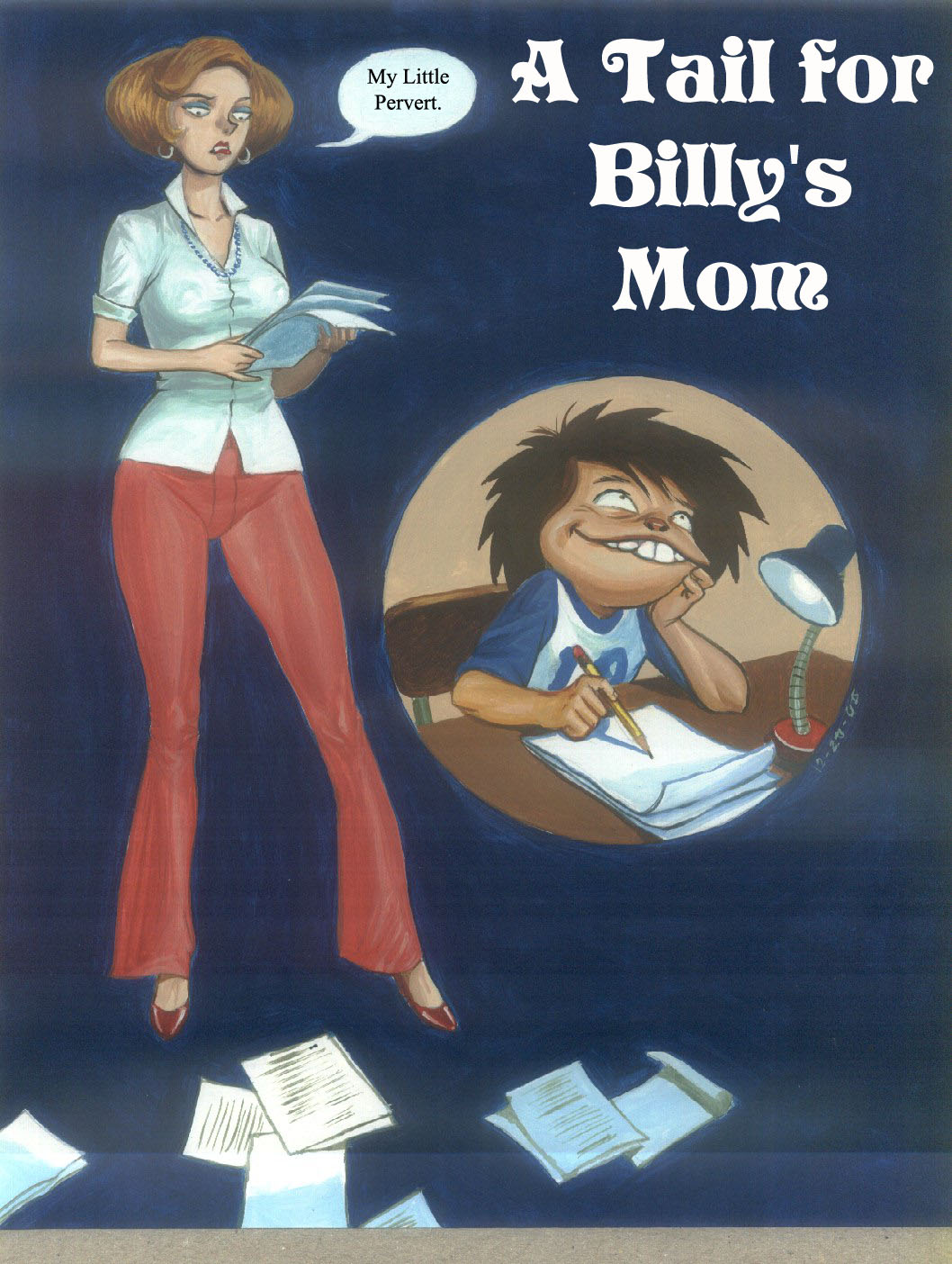 A Tail For Billy\'s Mom- PBX