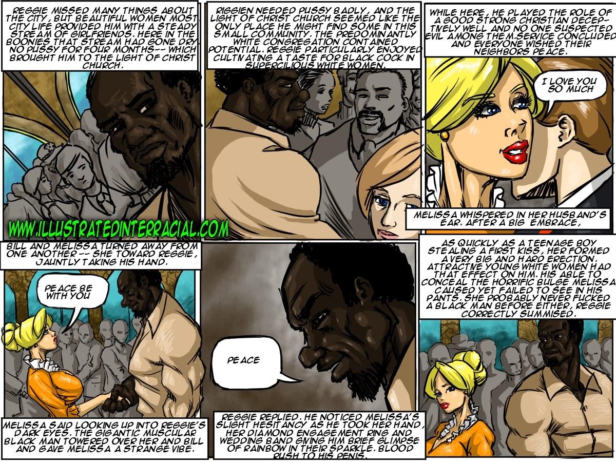 illustriert interracial neue Gemeindemitglied