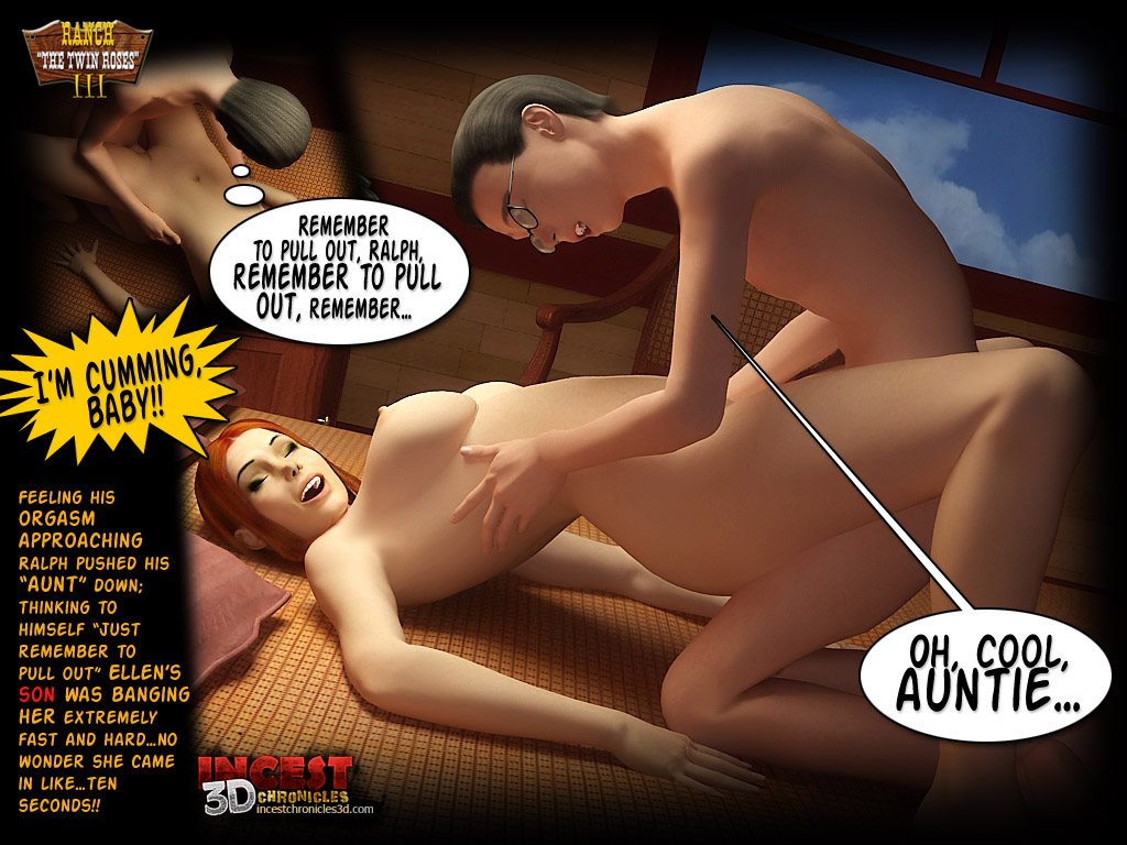 Ranch The Twin Roses. Part 3- Incest3DChronicles - part 4