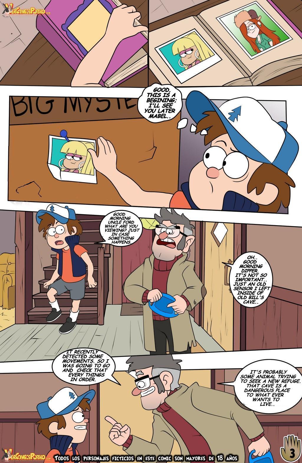 Gravity Falls- One Summer of Pleasure Book 2